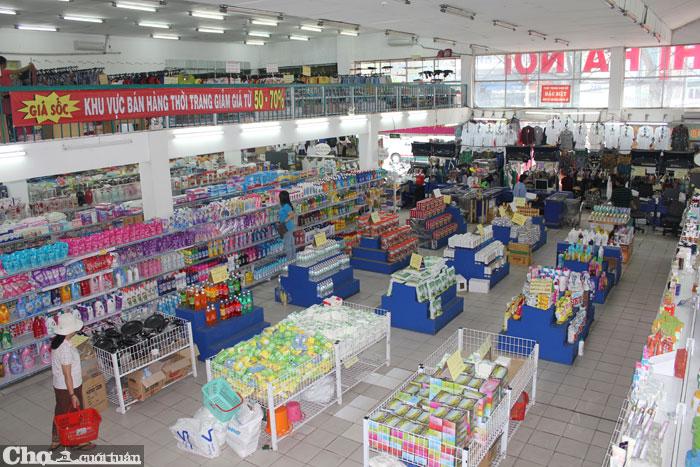 siêu thị bán lẻ