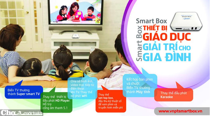 Miễn phí chép phim HD|3D|4K|Karaoke - Android TV Box 4K xem 300 kênh TV, 10.000 phim. - 1