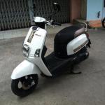 Yamaha Cuxi Fi đời 2013 màu trắng sang trọng
