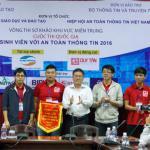 ĐH Duy Tân thắng lớn trong cuộc thi về an toàn thông tin