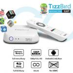 Tizzbird S20T - Android Box xem phim Full 3D ISO Bluray