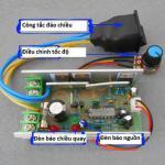 Mạch điều khiển tốc độ motor DC 10A