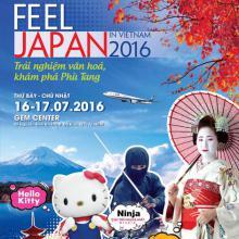 Nét đặc sắc ở Cảm nhận Nhật Bản 2016