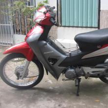 Xe Honda Wave S 100cc màu đỏ đen