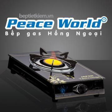 Bếp gas đơn hồng ngoại cao cấp Peace World