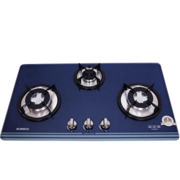 Bếp gas âm mặt kính 3 bếp - Sang trọng và tiện nghi