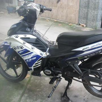Xe Sunfat Exciter 110 màu xanh đời 2013