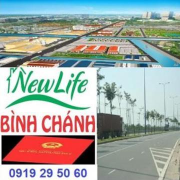 Đất nền Newlife huyện Bình Chánh 4 x 18m