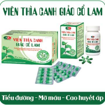 Viên Thìa Canh Giảo Cổ Lam - Cây thuốc quý Việt Nam
