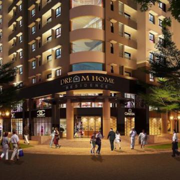 Căn hộ Dream Home Residence thiết kế đẹp