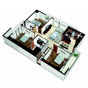Căn hộ chung cư Cantavil 3PN quận 2