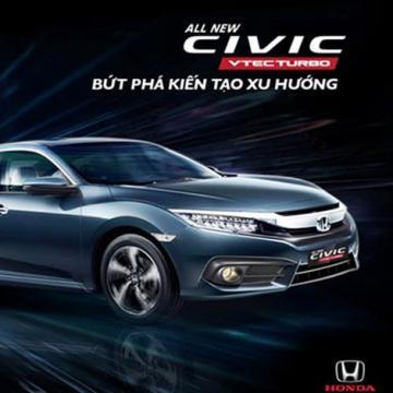 Chứng nhận an toàn 5 sao của Honda Civic thế hệ thứ 10
