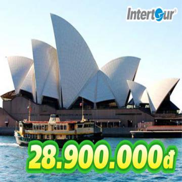 Đặt ngay tour Úc 5N4Đ chưa đến 29 triệu