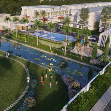 Rosita Garden - Nhà liên kế 2 sân vườn của Khang Điền