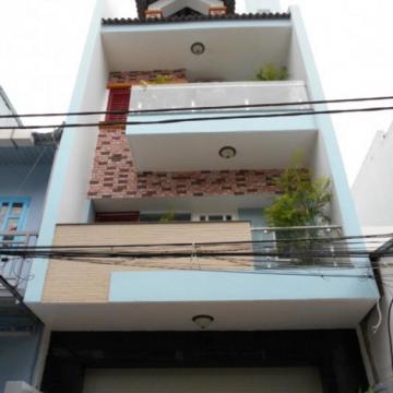 Nhà mới xây đường 16m quận Tân Phú