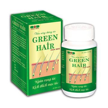 Trị rụng tóc với Green Hair hiệu quả nhờ khác biệt