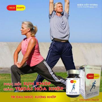 Kiện cốt vương Medi Happy hỗ trợ chữa đau mỏi xương khớp