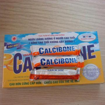Bánh Calcibone bổ sung và ngừa loãng xương