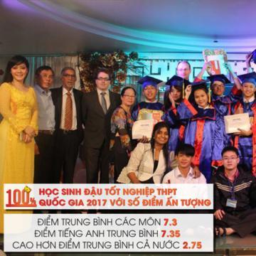 Trường Việt Mỹ 13 năm liền 100% học sinh đậu THPT