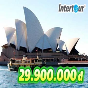 Đặt ngay tour Úc 5N4Đ chưa đến 30 triệu