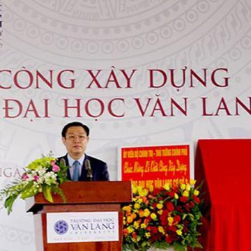 Năm 2017 sinh viên Văn Lang nhập học tại cơ sở mới