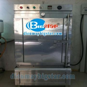 Tủ nấu cơm công nghiệp 6 khay điện BigStar