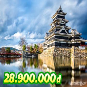 Tour Nhật Bản mùa hè 6N5Đ siêu tiết kiệm 28,9 triệu