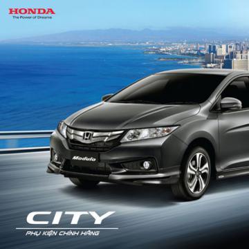 Giới thiệu Honda City Modulo 2016 cùng nhiều CTKM