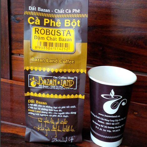 Coffee Robusta - Đậm chất Bazan