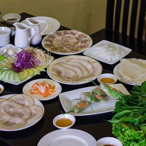Món ngon với Nhà hàng Hoàng Ty