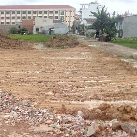Đất nền thổ cư sổ hồng quận Bình Tân giá rẻ