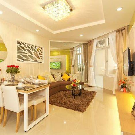 Căn hộ cao cấp Him Lam Chợ Lớn năm 2015 nhận nhà