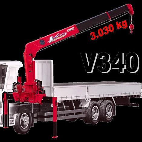 Unic V340 - Cẩu Unic 3 tấn 3 khúc, 4 khúc