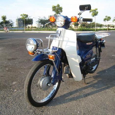 Honda Super Cub 50cc Fi date 2010 màu xanh