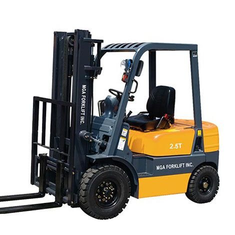 Xe nâng diesel MGA 2,5 tấn 2 khúc 3m