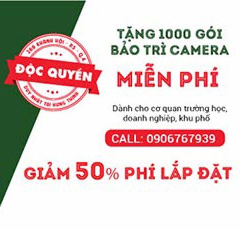 Hưng Thịnh ưu đãi 1000 gói bảo trì camera miễn phí