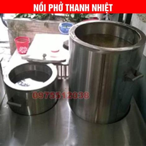 Bộ nồi nấu nước phở dùng điện thanh nhiệt
