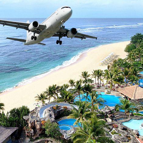 Vé máy bay đi Bali giá tốt tại Skytour