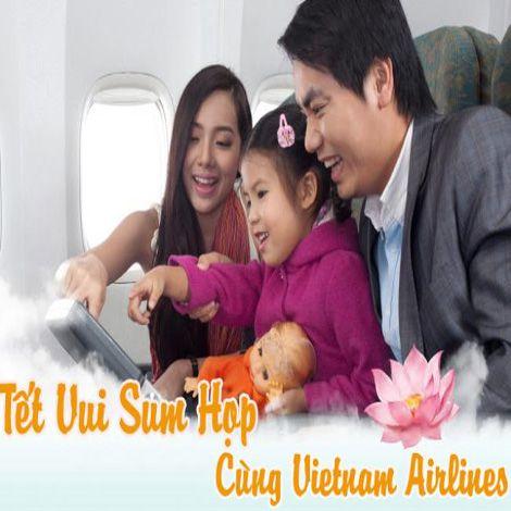 Vietnam Airlines khuyến mãi vé máy bay Tết 2015