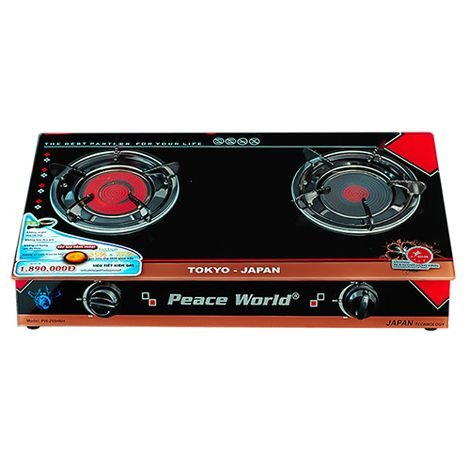 Bếp gas hồng ngoại Peaceworld PW-255HNH