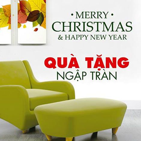 Đón Giáng sinh chào năm mới quà tặng ngập tràn