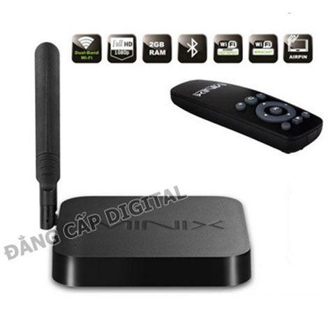 Minix nâng cấp TV thường thành SmartTV - thay thế đầu phát HD
