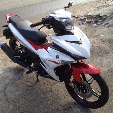 Xe Yamaha Exciter 150 Màu Trắng đỏ đen Còn Rất Mới Bán Tại