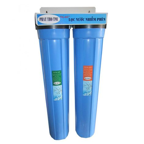 Bộ lọc nước phèn 2 ly 20 inch