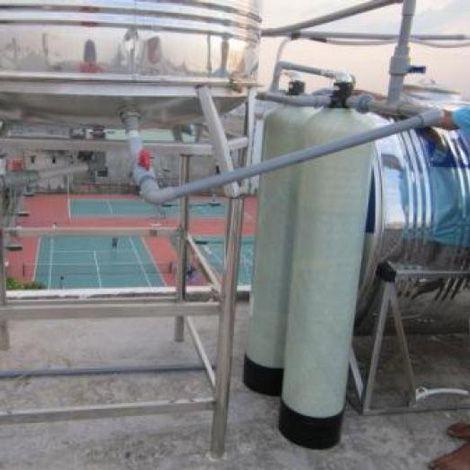 Bộ lọc nước giếng nhiễm phèn công suất 1000 lít