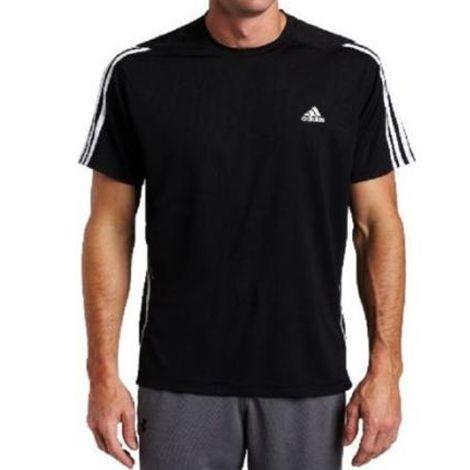 Áo thun nam tay ngắn không cổ Adidas