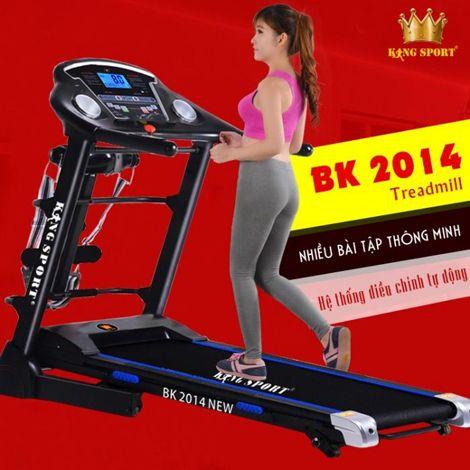 Máy chạy bộ điện Kingsport BK 2014 New Version
