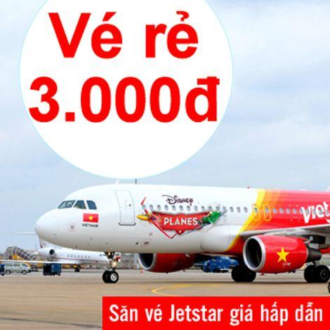 Săn vé Jetstar giá hấp dẫn tại Skytour