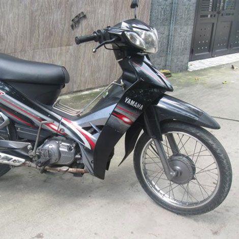 Xe Yamaha Sirius 100cc màu đen bạc