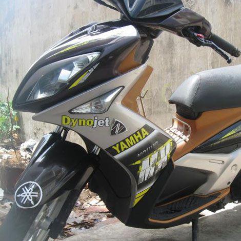 Xe Yamaha Nouvo 4 màu đen đăng ký 2008